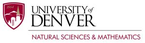 University of Denver Logo, Natural Sciences and Mathematics