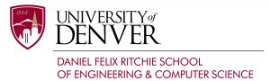 University of Denver, Felix Richie School of Engineering and Computer Science