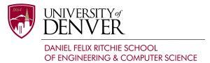 University of Denver, Felix Richie School of Engineering and Computer Science
